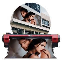 Digital-Tintenstrahl-großes Format-Drucken-Maschine mit ursprünglichem Epson Dx5 Schreibkopf Eco Lösungsmittel-Drucker