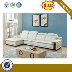 A cor branca estilo luxuoso Casa moderna sala de estar sofá de couro