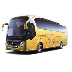 Novo Veículos de Transporte/Ônibus Coach Turístico Luxuoso a Diesel de 12m para 37 Assentos com Ar Condicionado E Design Colorido