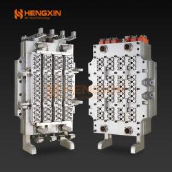 48 キャビティプラスチック射出ペット /PP/PC/PLA プリフォーム金型 / ホットランナ付き金型カスタマイズプリフォーム重量、ネックサイズ、キャビティ