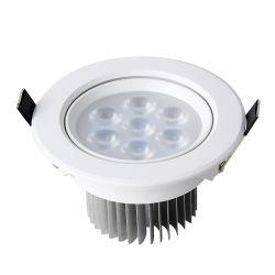 ضوء LED عالي القدرة بالسقف بقوة 3 واط بقوة 7 واط بقوة 9 واط وقوة 12 واط مع ضوء إضاءة خفيف