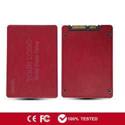 """dell'azionamento semi conduttore ad alta velocità 2.5 """" disco rigido 256GB dello SSD di SATA per il computer portatile"""
