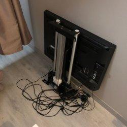 Elektrische Linear actuator LCD TV Lift voor slaapkamer van 12 V.