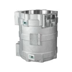 A anodização de alumínio Peças de fundição de moldes de Alumínio Shell do Alojamento do Motor