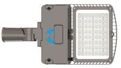 IP65 oder IP66 bis zu 145lm/W hohes Lumen ausgegebenen im Freien Straßenlaterne-Fahrbahn-Beleuchtung-Vorrichtungen der Straßen-LED 50000 der Leben-Stunden Zeit-50W 80W 100W 120W 150W 180W 200W