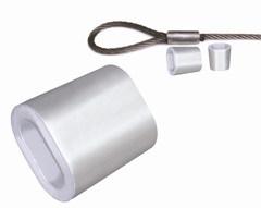 DIN3093 Ovale Koker van het aluminium/Metalen kap en13411-3