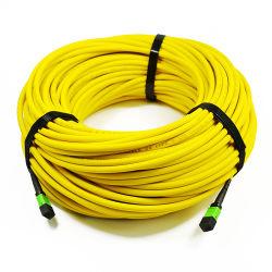MPO/APC Cable troncal de fibra óptica 24 core core Ofnp 48 SM