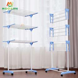 Boa qualidade de uso doméstico Quarto Multiuso Roupas Dobrável Rack Prateleira de armazenamento