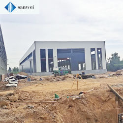 Metalllager-Lagerhaus Einkaufszentrum Industrial Warehouse Design Stahlkonstruktion Stahl H-Träger