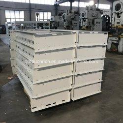 Fabricación personalizada de lámina metálica de alto rendimiento del gabinete eléctrico.