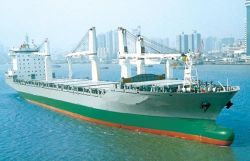 貨物船(DWT19800)の貨物船かばら積み貨物船(SXC018)