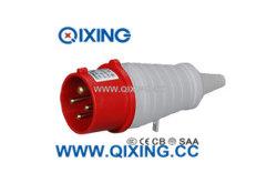 CEE 16A 4P 400V 빨간색 산업용 플러그(PVC 테일 포함