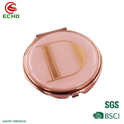 Портативный мини-хода складывания наружного зеркала заднего вида компактный карманный косметический зеркало для макияжа