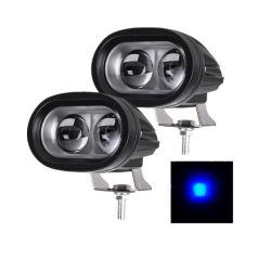 ضوء تحذير رفع الشوكية LED باللون الأزرق بقدرة 20 واط