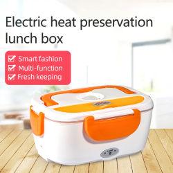 Plastique alimentaire portable plus chaudes de Tiffin électrique boîte à lunch 110/220 V Auto Chauffage électrique boîte à lunch pour la voiture et le bureau