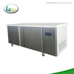 Refrigeración estática comerciales de lujo Mini nevera nevera mesa de trabajo