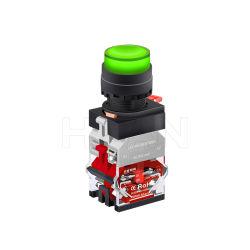 中国の製造業者 Hban 22mm Momemary 1no1nc の高い頭部 Xb2 は照らされる スタートボタンを押します