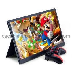 Monitor computador ecrã LCD ecrã 15.6 polegadas 4K Gaming Portable Monitor para computador portátil PC com Switch Cell Phone Xbox PS4