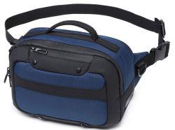 남성용 방수 싱글 숄더 레저 스포츠 러닝 라이딩 체스트 USB 포함 사텔 웨이스트 백 패니 팩(CY8890)
