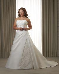 Линия свадебные платья с куртка Satin длинные поезда устраивающих Gowns дамы кружевом валика клея