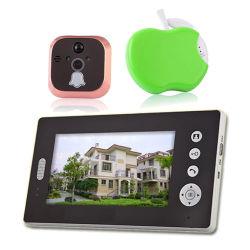 2,4-7 дюймовый цифровой HD Wireless Peephole Viewer с фотографиями и функция обнаружения движения