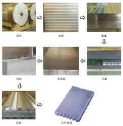 Alumínio Alveolado Core para painéis de alvéolos com custo elevado desempenho