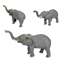 Прелестная OEM/ODM 3D пластмассовых материалов виниловая игрушка рисунок рисунок слона в форме животных цифры оптовая торговля