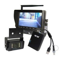 지게차 HD 카메라 720p 무선 전방 카메라 시스템 AHD 뒷면 업 카메라 키트(Out Door Handling Safety)