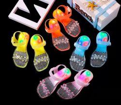 أحذية طفل سانجال من PVC مع ساندال فتاة ملونة خفيف