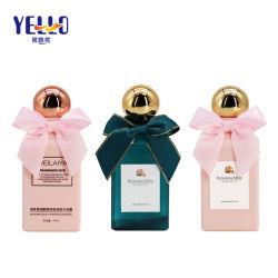 De vierkante Plastic Fles van de Was van het Lichaam van de Shampoo van de Reis PETG voor Hotel