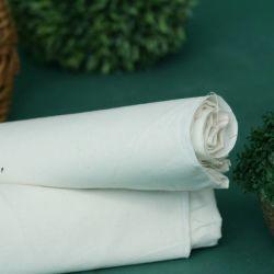 Alta calidad a bajo precio 100% algodón 40 Blanco Greige de hilo de un paño de tela