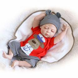 """22"""" 55cm de silicona suave muñeca Reborn del recién nacido bebé reborn realistas renace para los niños lavable de regalo"""