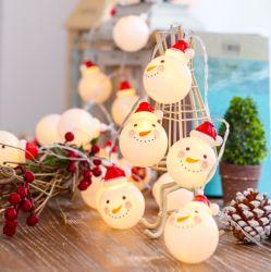 2020 Hot Selling nuovo stile LED Natale stringa Snowman luce Luci String Room decorazione Santa Natale decorazione