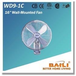 مروحة حائطي عالية الجودة مقاس 16 بوصة مزودة بشاشة LED مضيئة