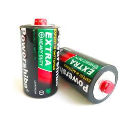 De in het groot OEM Op zwaar werk berekende Dienst Duurzamere Lekvrije 1.5V/het Zink van de Koolstof/Batterij van D van de Grootte van de Verwijdering de Primaire R20 um-1 voor RadioToorts