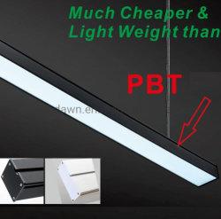 Luz de Teto Slim 1,2 m escritório moderno Lustre LED da lâmpada de iluminação interior Pendente Linear