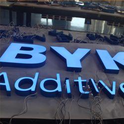 La décoration d'acrylique lumineux LED 3d signer les logos pour les entreprises