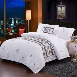 Venda por grosso de fábrica Hotel conjunto de roupa de cama de impressão define