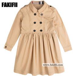 赤ん坊の服装の方法女の子は形式的なパーティー向きのドレスの卸売の子供の衣服の子供の着せを身に着けている