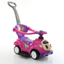De goedkope het Glijden van de Prijs 2019 Nieuwe Rit van de Jonge geitjes van het Stuk speelgoed op Auto met het Handvat van de Duw