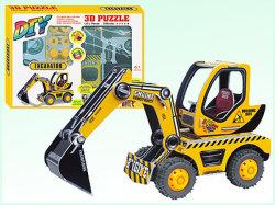 Трение Car игрушки DIY 3D-головоломки интеллектуальных игрушек (H4551129)