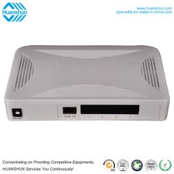 FTTH 10/100/1000m 4 portas de gerenciamento de rede Gpon ONU