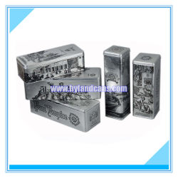 Gift rettangolare Tin Box per Promotion e Advisement