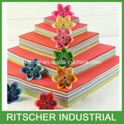 La couleur du papier offset papier d'impression en carton avec certificat FSC