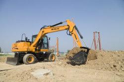 Escavatore idraulico pieno della rotella dell'escavatore 13t della rotella
