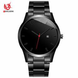 Japón Movt Relojes baratos al por mayor reloj de pulsera Black Watch OEM -V50
