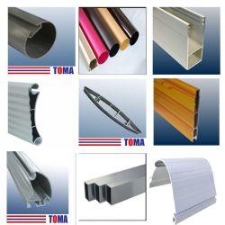 Profils aluminium de haute qualité pour volets roulants, portes et fenêtres en aluminium, Mur-rideau, les auvents, stores, des systèmes solaires, les mains courantes