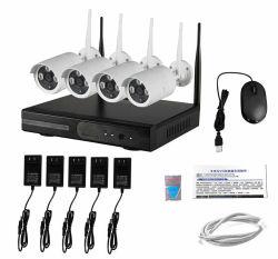 Sistema della macchina fotografica del CCTV di Wirless, IP Camera+4CH 2.4G NVR senza fili di 720p HD WiFi. con o SENZA la rete realizzabile