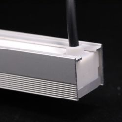 À prova de LED de exterior Inground IP67 Luz Linear para tiras de LED LED de alumínio Alumínio Canal Perfil de iluminação LED