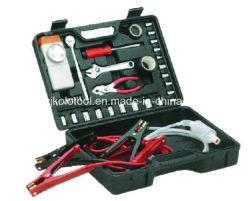 38PC Outil d'urgence kit de voiture avec compresseur à air